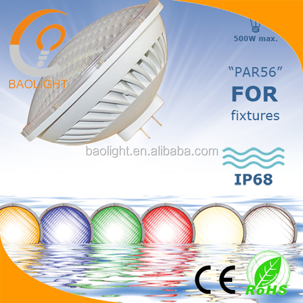 12V par56 led retrofit underwater led lights for fountains pool
