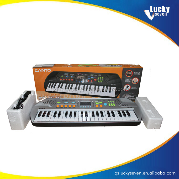 Kids portable flexible electronic piano keyboard