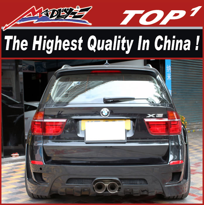 For bmw x5 e70 kit for 2011-2013 X5 E70 HM style wide body kit
