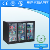 3 Glass Doors Display Refrigerator,Hotel Showcase Fridge,Cold Soft Drink Cooler