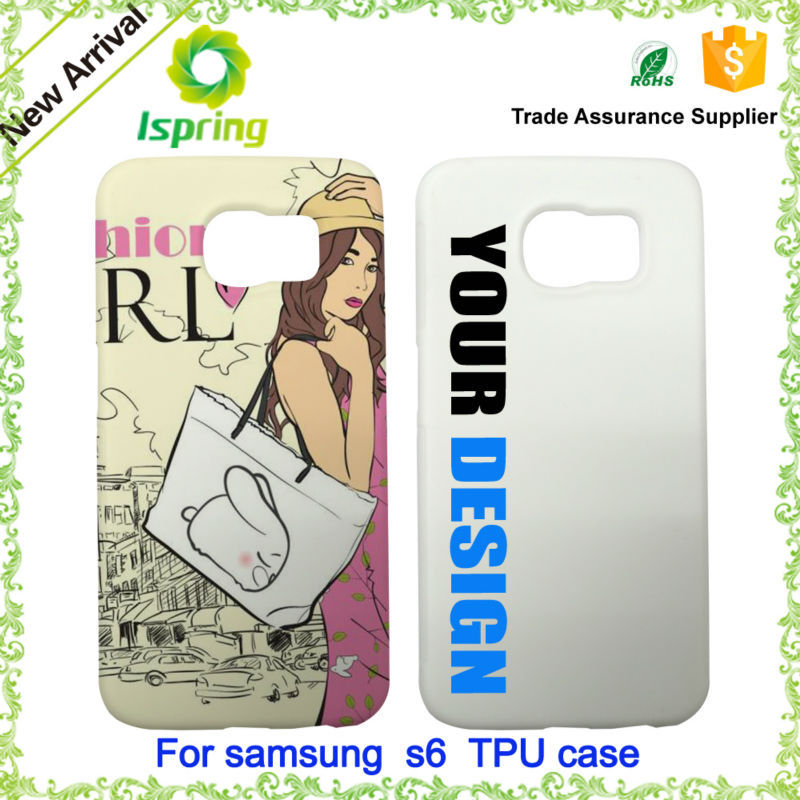 Hot selling promotion customize case for samsung galaxy s6 case