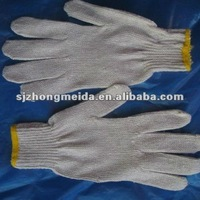 T/C safety gloves/ knitted working gloves
