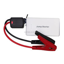 Newest car battery jumper cables 12V 12000mAh car jump starter/mini car booster