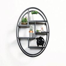 free sample New design industrial style pipe bookshelf,decorative iron pipe wall <strong>shelf</strong>
