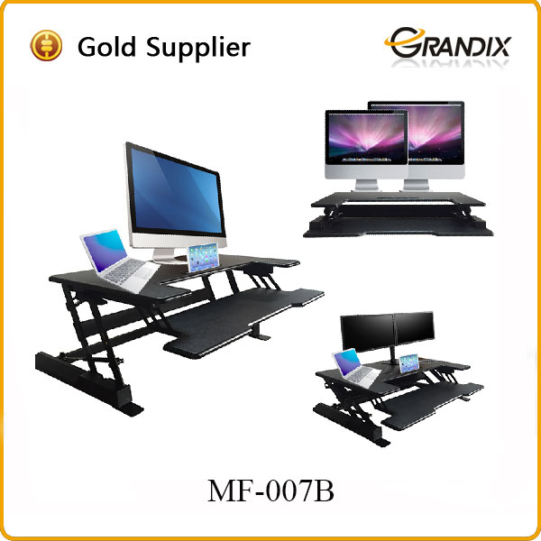 New fashion white gloss computer desk with best service