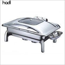 Commercial catering equipment kitchen philippines sale food warmer roll top electric chaffing dish buffet