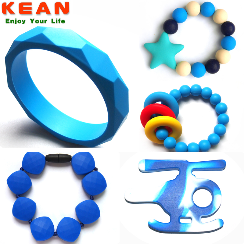 latex free silicone rubber bracelet/Colorful Magnetic Bracelet Jewelry