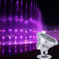 RGB/RGBW LED underwater light/LED pool Fountain light with dmx controller