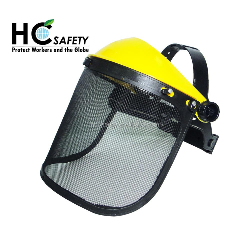 F001 ho cheng new product ce & ansi coal mine safety equipment non rusty wire mesh face shield