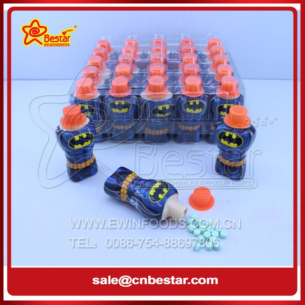 Cartoon Character Plastic Bottle Toy Candy