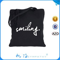 fashion high quality Cotton Sublimation Tote Bag
