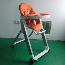 Wholesale baby chairs and sofas orange plastic folding chairs