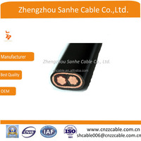 Two Corestwin Aluminum(Copper) Concentric Cables