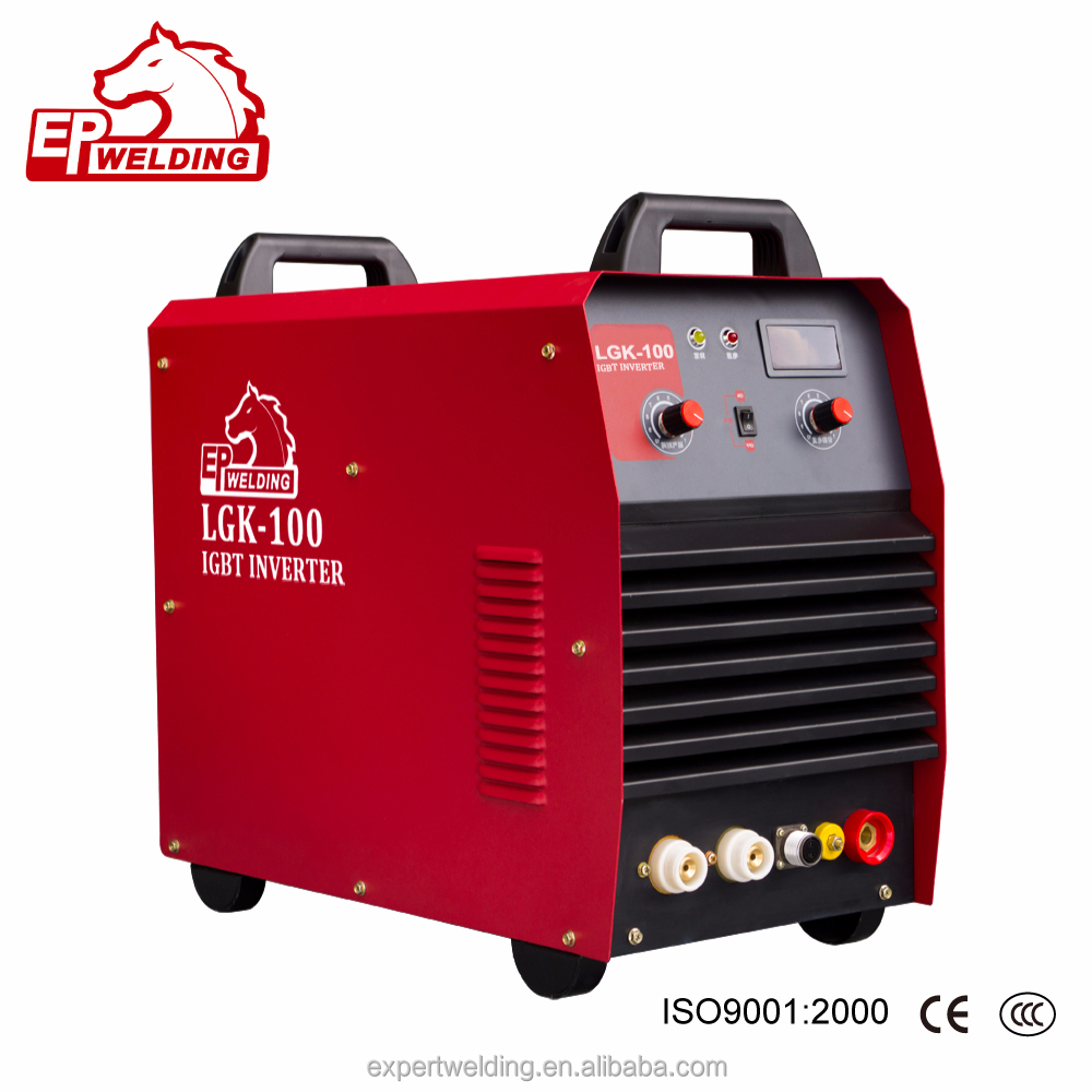 Air portable CNC plasma cutter LGK 100 plasma cutting equipment