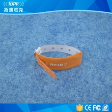 medical id disposable PVC nfc waterproof bracelet