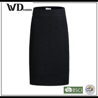 2015 new arrival black sexy skirt for fashion lady