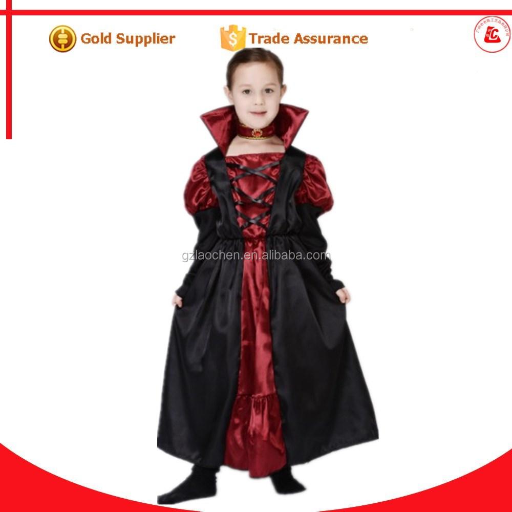 custom made puffy halloween costume suppliers girls vampire costume