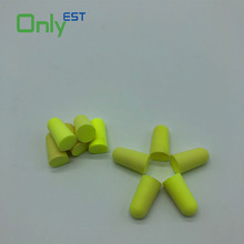 Free samples reduce noise soft waterproof orful PU foam airline travel ear plugs cheap earplugs