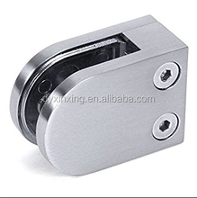 marine hardware stainless steel glass handrail railing clip/clamp