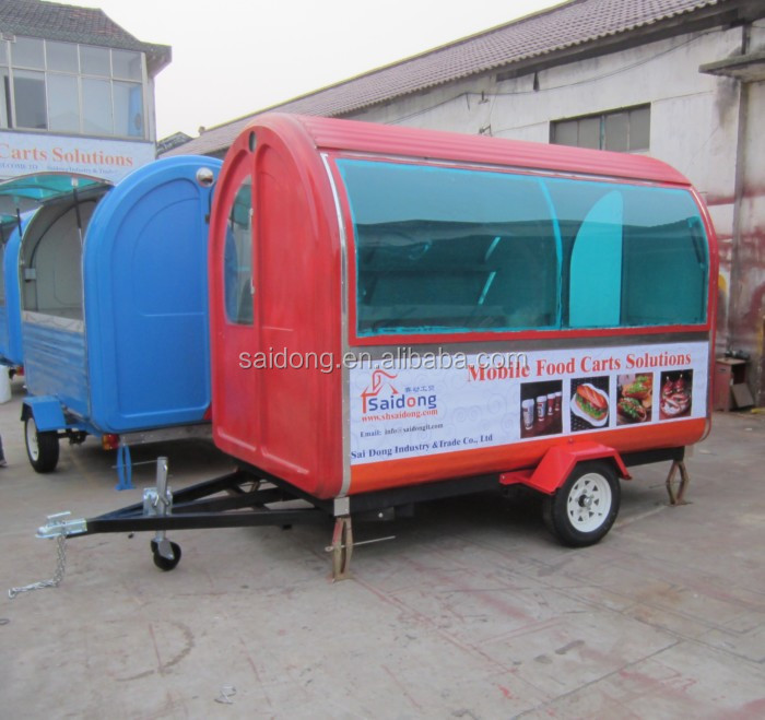 Electric tricycle food cart vending mobile food cart with wheels CE&ISO9001Approval kiosk food cart with wheels