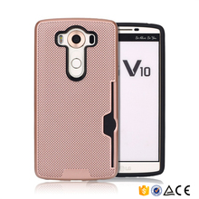 Newocean case mobile phone accessories case wallet for LG V20 tpu cover