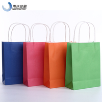 Cheap Paper Bags With Handles Wholesale