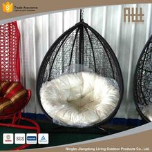 Promotion factory supply swing rattan egg chair