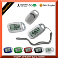 Factory Wholesale 6 in 1 Pedometer Multifunction Step Calorie Fitness Tracker Wireless 3d Sensor Pedometer Large Display