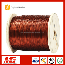 1.5 mm insulated solderable polyurethane enameled copper wire for motor