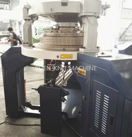 Double jersey rib used circular knitting machine