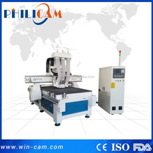Philicam F2-9 woodworking cnc router with boring head for furniture