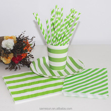 Chevron Paper Party Tableware