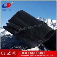Stock in & support customized color and size,Heated Waterproof Pad- Far Infrared Thermal Seated Cushion, rechargable battery