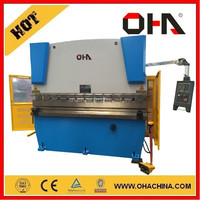 """OHA"" Brand HAPK-40/3200 3 rolls small sheet roller bending machine, rail bending machine"