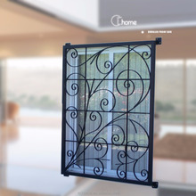 Shanghai Echome modern iron decorative window bars design