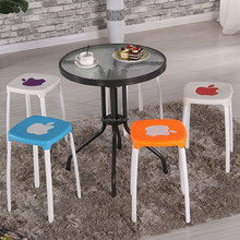 Custom wholesale white pp plastic stool,plastic stacking stools,small plastic stools