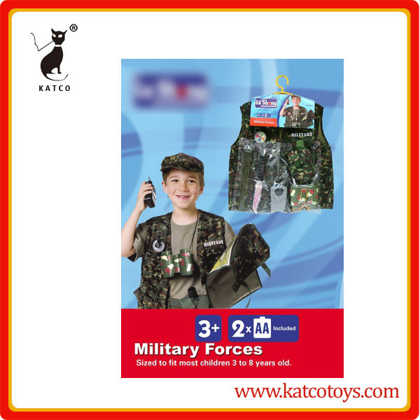 Military uniform playing hat toys 3 to 8 years old