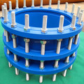 specialized production Rigid piping system double flange telescopic joint