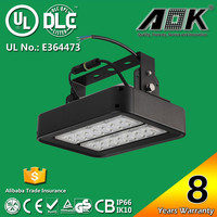 8 Years Warranty Meanwell Driver IP67 120lm/w 80W LED High Bay