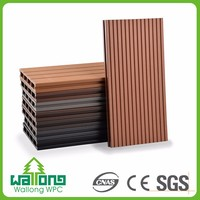 Multi-purpose environmental friendly hollow wpc spanish floor tile