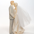 romantic wedding couple figure