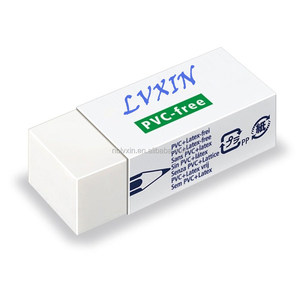 HOT sale Wholesale high quality rubber eraser for school white eraser with logo branding