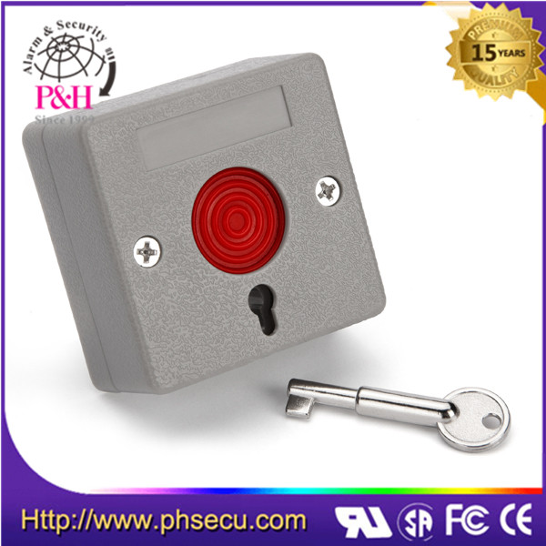 home security panic alarm reset plastic emergency button