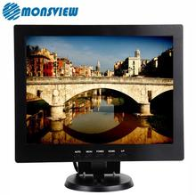 Industry surveillance folding stand 10 inch lcd monitor