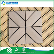 WPC Wood Plastic Composite Outdoor Deck Flooring with CE SGS China Supplier wpc decking
