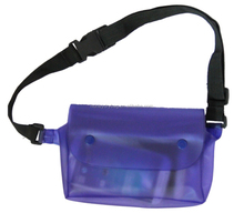 Colorful Custom Sports Fanny Pack Camouflage PVC Waterproof Waist Belt Dry Bag