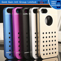 New Hard Metal Skin Case Cover Back Fitted For iPhone 5S