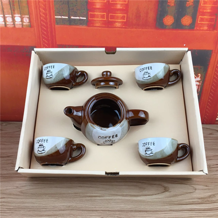 Wholesale porcelain <strong>coffee</strong> and tea sets kung fu tea cup sets teapot and cups