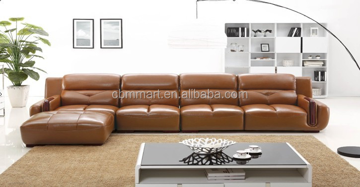natural leather sofa/