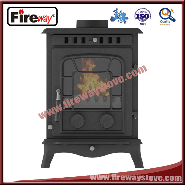 Low price/Good quality 8-10kw cast iron wood stove